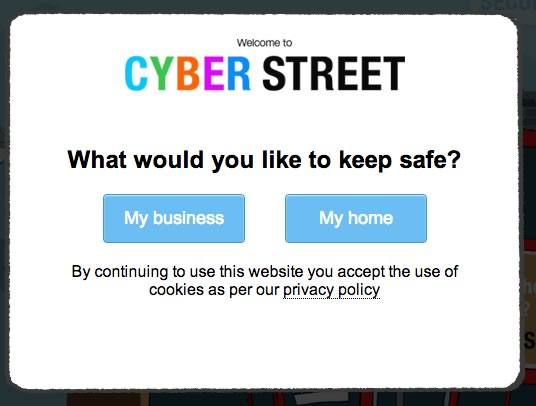 screenshot from Cyber Streetwise